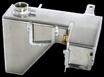 Aluminum HEMI Coolant Tank with Double Power Steering Tabs