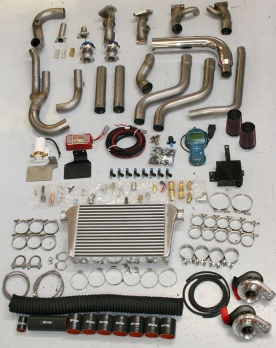 Hemi 6.1 SRT-8 Twin Turbo Kits