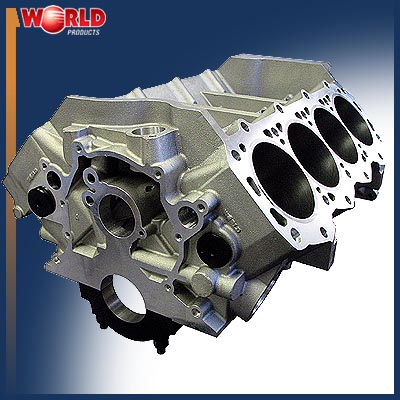 World Man o' War Aluminum Smallblock Ford Block