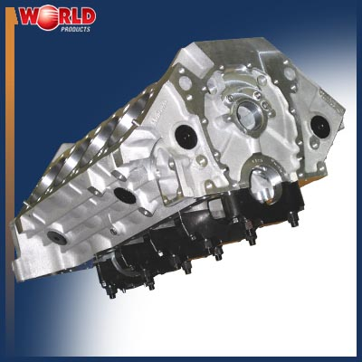 World Aluminum Smallblock Chevy Blocks