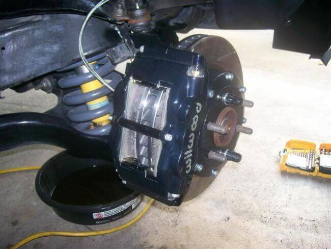Wilwood Dakota R/T Disc Brake Conversion Dakota R/T Disc