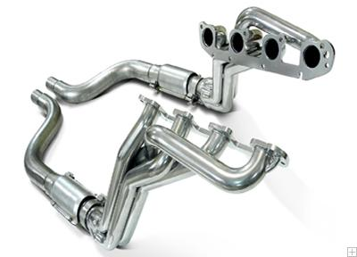 5.7L Hemi SLP Coated Long Tube Headers w/ High-Flow Cats